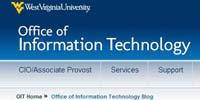 West Virginia University Office of Information Technology